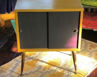Refurbished Mid-Century Modern Side Table