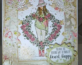 Heart Happy Handmade Card