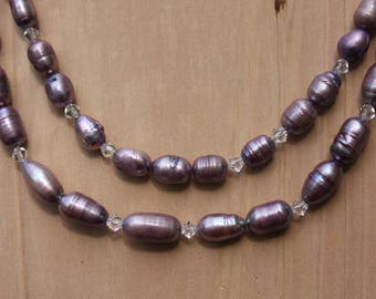 Double Strand Freshwater Pearls