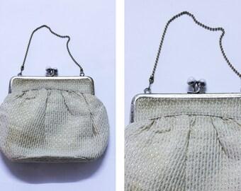 Vintage Patterned Evening Bag