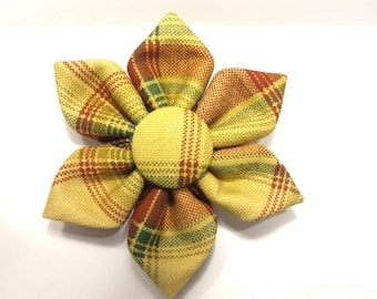 Plaid Flower - Sweet Fall Plaid -