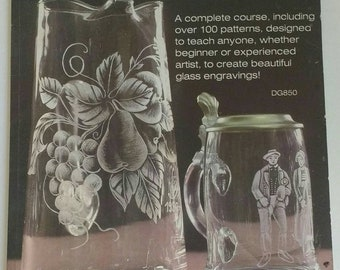 Glass Engraving Course and Patterns