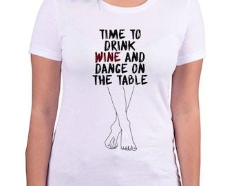 wine dancing