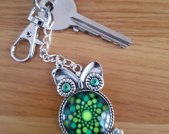Owl Keyring or Bag Charm