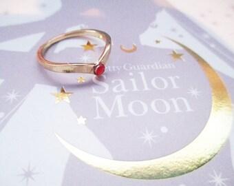 Sailor Moon Tiara Ring