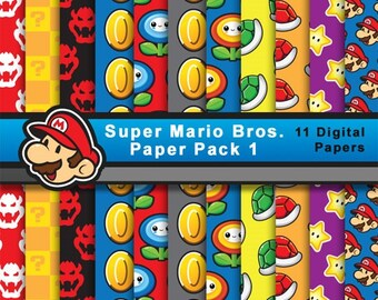 Papel de Super Mario Bros (pack 1)
