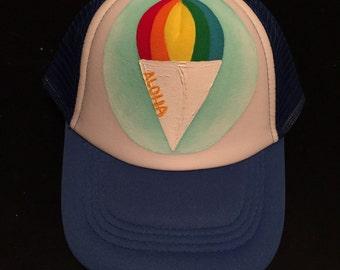 Shave Ice Keiki Trucker Hat