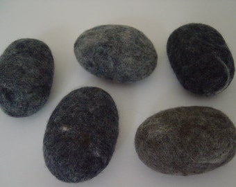 3 Large SOAP Pebbles, beach pebble style, GIFT IDEA, practical use or home decor