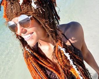 Tigers Spirit Light Warrior Ski Hat Scarf