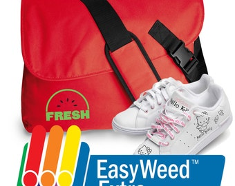 "Siser EasyWeed Extra Heat Transfer  Vinyl Sheets - 15"" x 12""."