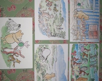 NEW Classic Winnie the Pooh and Friends Prints