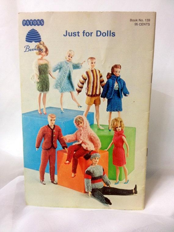 Sólo para muñecas tejer patrón libro número 139, colmena de los ...