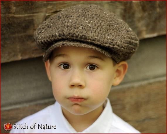 Crochet Newsboy Hat Pattern Baby Doll