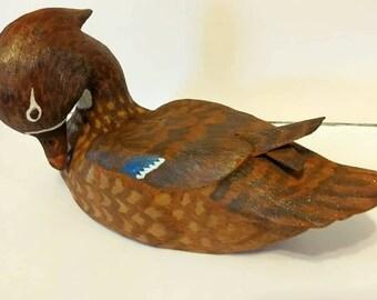 Woodduck Hen