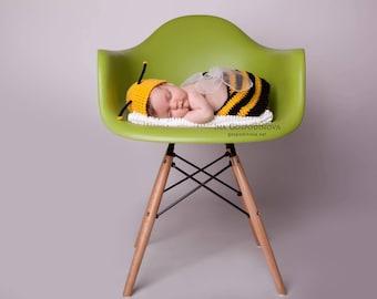 Bee prop Baby Prop Set Baby hat Baby twins prop Bee Hat Newborn Prop Spring Prop Animal Prop Baby Girl Prop Hat and Diaper Cover Bee Toy