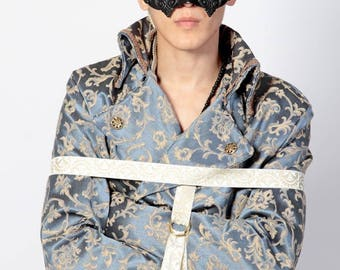 Victorian Baroque Bourgeois Straight Jacket