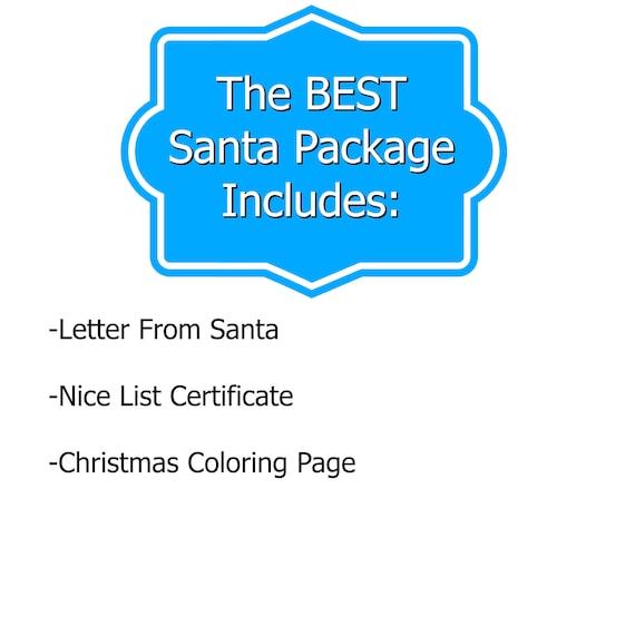 best religious santa letter nice list certificate santa