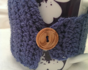 Denim Blue Mug Cozy/Mug Hug