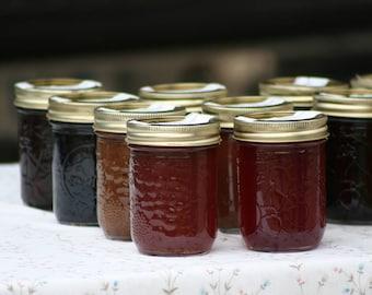 Homemade Jams, Jellies, and Sauces