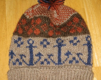 Fair Isle Ski Hat--CUSTOM ORDER