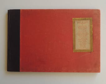 Antique First Edition Collector's Art Book Thirty Favorite Paintings by Leading American Artists 1908
