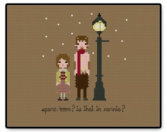 Narina - Cross Stitch PDF Pattern Gifts for her - Kids - Pixel People - Unique - TV - Movie - Cartoon - Book - Chronicles - Magic - Wardrobe