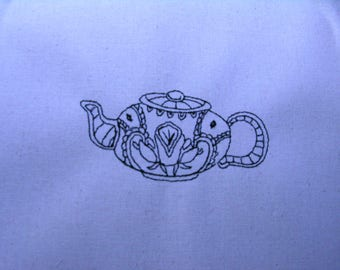 Decorative Teapot 009 4x4