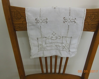 Napkins Set of 8 vintage antique linens