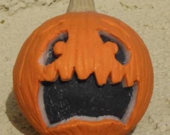 Sculpey Scared Pumpkin