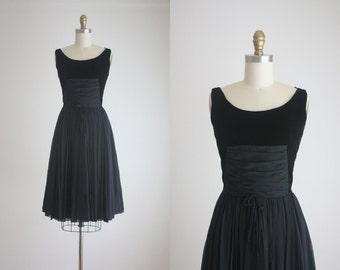 1960s twilight party dress