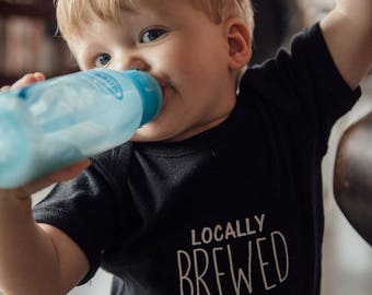 Locally Brewed Unisex Onesie