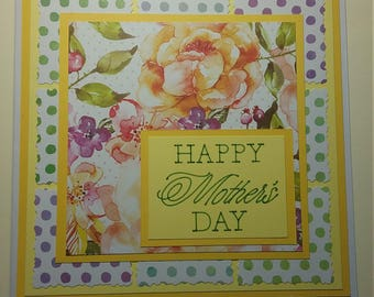 Handmade Mother's Day Card * Happy Mother's Day
