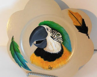 Parrot head plate