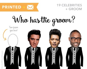 20 QTY – Who has the groom? – Printed plus Envelopes