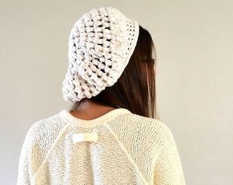 Crochet Beret Pattern Boho Crochet Pattern Crochet Tam Pattern DIY Pattern Womens Beret Beginner