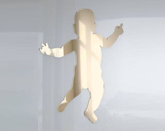 Baby Standing Mirror - Available in various sizes