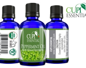 Peppermint Oil 100% Pure Natural & Organic