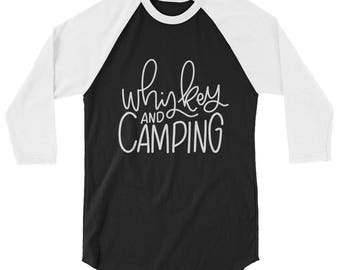 Whiskey and Camping Tee