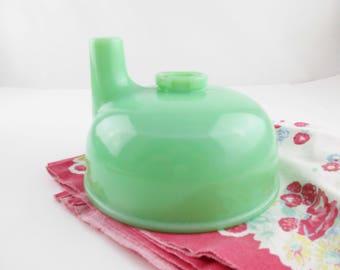 Jadeite Juicer Bowl - Vintage Sunbeam Mixmaster Attachment - Mid Century Kitchen - Reamer Basin - Jadeite Collection