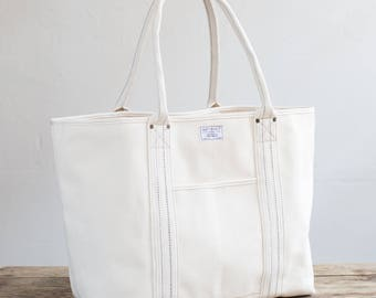 Boat Tote in Natural Duck