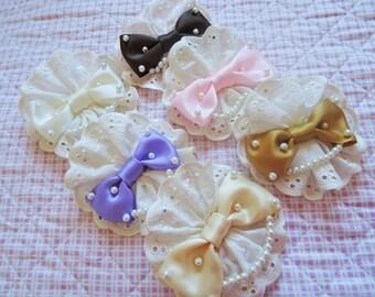 Lace Canotier Lolita Headdress