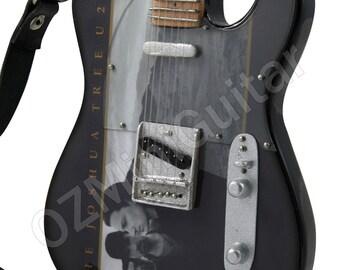 Miniature Guitar The Joshua Tree U2