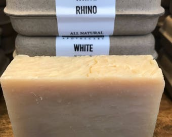 White Rhino Bar Soap 4oz