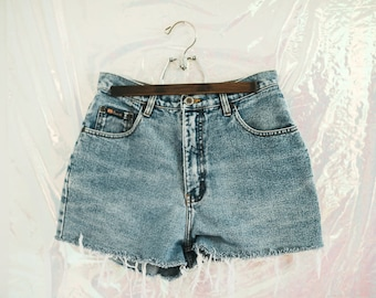 Vintage Women's Route66 High Waisted Denim Shorts