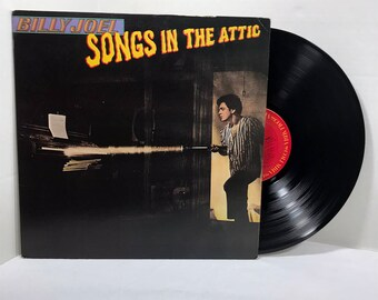 Billy Joel Songs In The Attic vinyl record 1981 EX Pop Rock