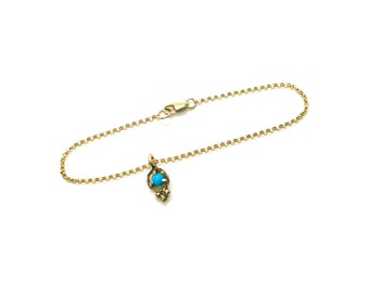 Auxo Bracelet // turquoise