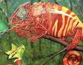 11x14 Chameleon Sacred Ge...