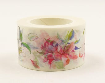 Lilies of the Field - Japanese Washi Masking Tape - 25mm wide - 11 Yard