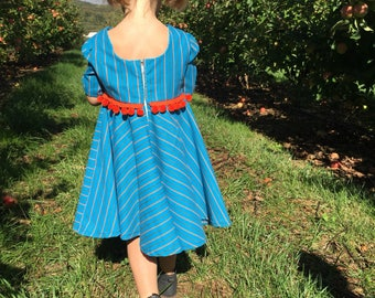 4t striped twirl dress