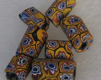 SALE 7 pieces  AfricanTrade Beads